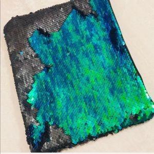 Tarte Cosmetics Sequin Reversible Flip Mermaid Bag